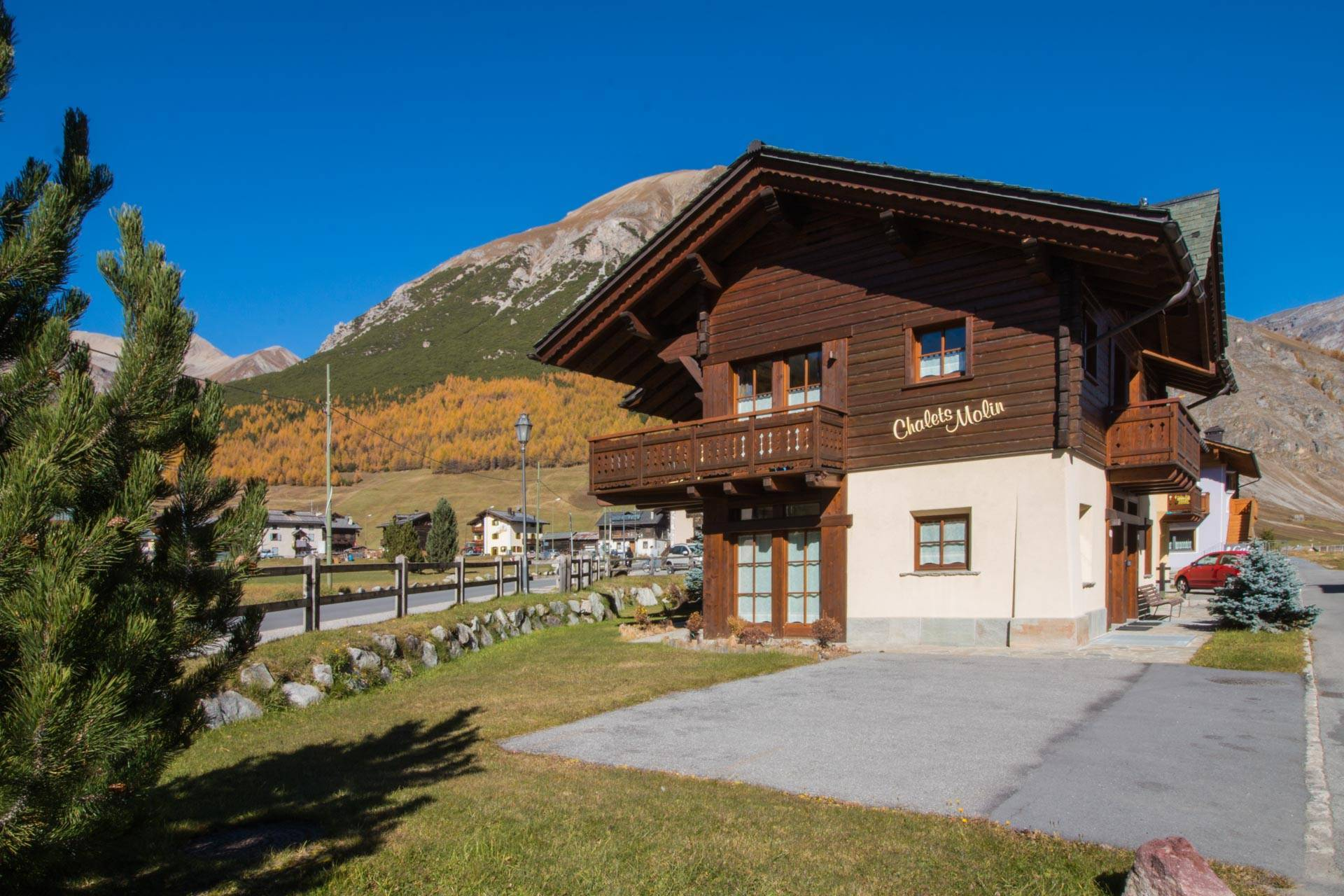 Apartments near Livigno's ski slopes