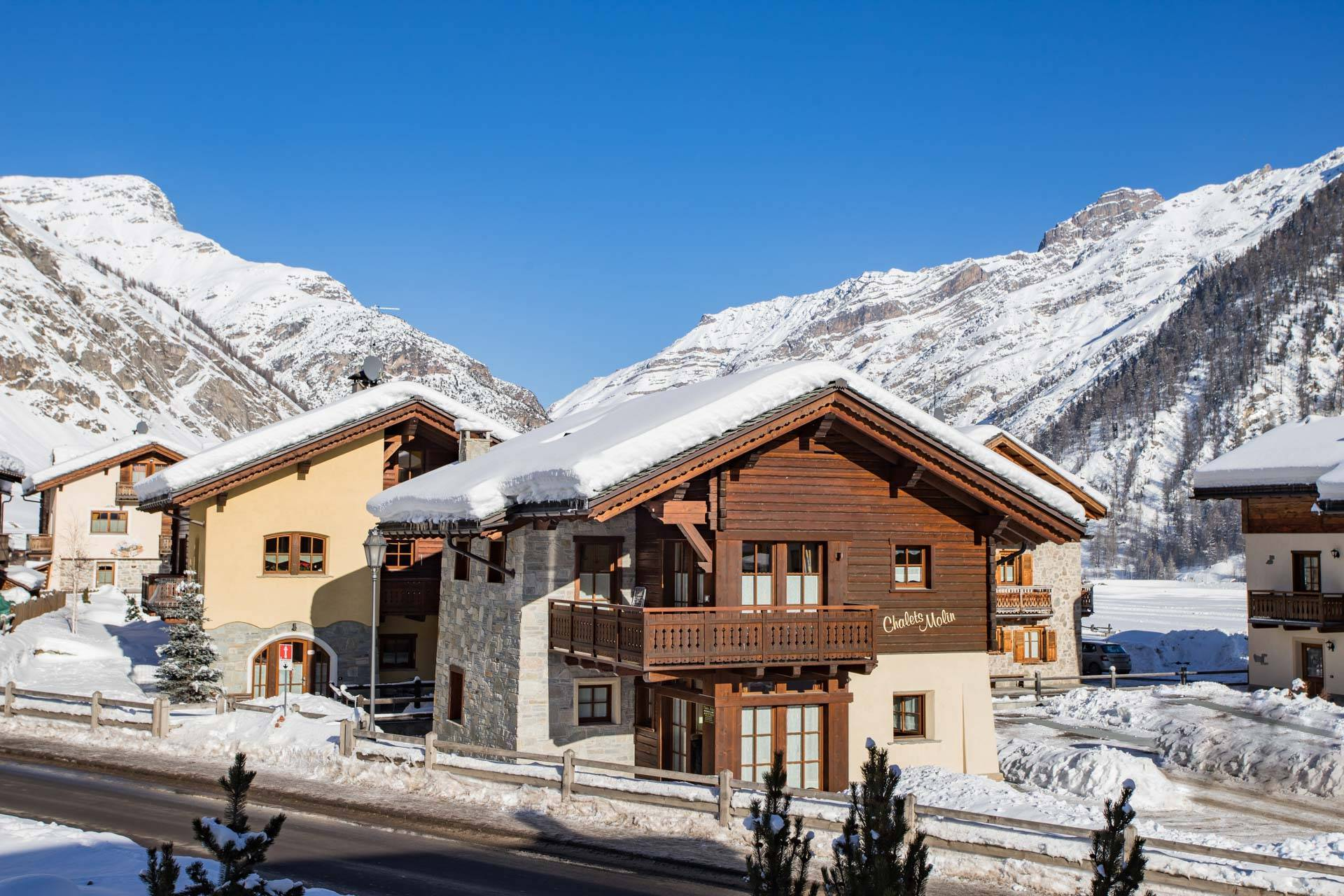Apartments near the city centre of Livigno